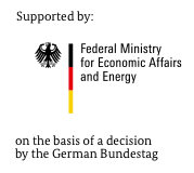 Supported by the Federal Ministry of Economics and Energy on the basis of a decision of the German Bundestag